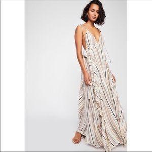 Free People Heat Wave Maxi Dress Size XS
